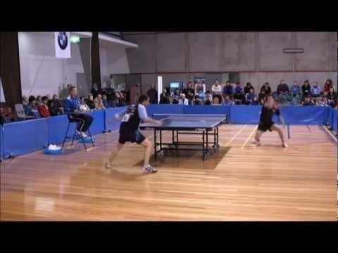 シモン Gerada vs Teng Teng Liu - 2011 全豪オープン Table テニス Men's Semi決勝戦(ファイナル)