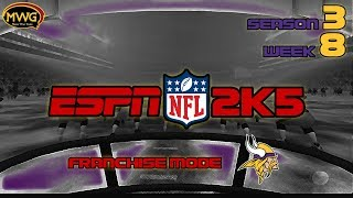 MWG -- ESPN NFL 2K5 -- Vikings Franchise Mode, S3 W8