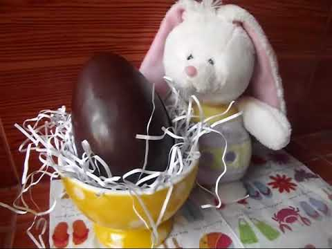 DIY: Huevos de Pascua de Chocolate / Chocolate Easter Eggs