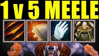 4x Passive Immortal Build Vs 5 Melee | Dota 2 Ability Draft