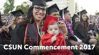 CSUN Commencement 2017: Social & Behavioral Sciences II