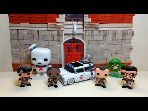 Funko Pop (Movie Series) Ghostbusters & Ecto-1 Review! Bert the Stormtrooper Reviews!