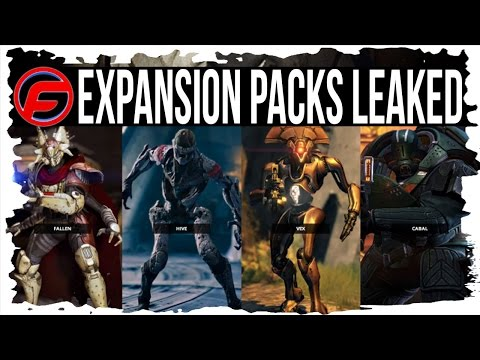 Destiny all expansion packs leaked comet vex forge of gods leaked