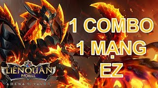 ZILL Top tướng 1 combo 1 mạng cực mạnh - Cách lên đồ Zill mùa 6 liên quân mobile