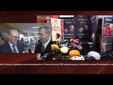 EXPODENT 2014 Paweł Zaborowski konsultant medyczny Glaxosmithkline