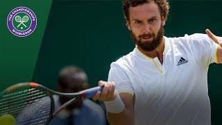 Juan Martin del Potro v Ernests Gulbis highlights - Wimbledon 2017 second round