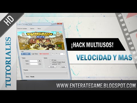 Dungeon Rampage   Hack Multiuso: Súper Velocidad + Atravesar La Pared 2014