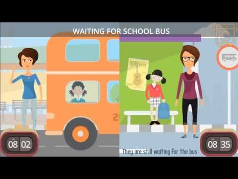SchoolWays- School Bus Tracking System .