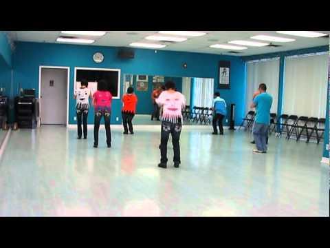 Proud Mary Burnin - Line Dance