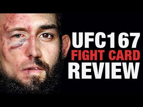 UFC 167 Fight Card Breakdown / Review MMAGAME (EA Sports MMA Gameplay)