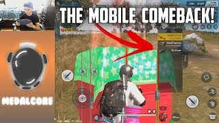 COMEBACK GAME ON MOBILE! - Rules of Survival: Battle Royale
