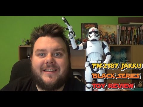 Star Wars Black Series FN-2187 Stormtrooper Finn Action Figure Unboxing Review (SuperSorrell)