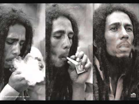 Bob Marley. Ganja gun