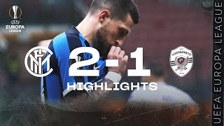 INTER 2-1 LUDOGORETS | HIGHLIGHTS | 2019/20 UEFA Europa League Round of 32 - Second Leg 🏆⚫🔵