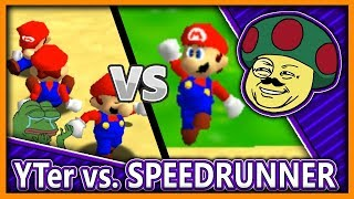 "Mario 64: 3 ""Youtuber"" vs. Speedrunner"