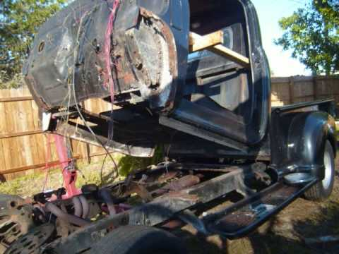 Chevy 1949 Chassis Swap Youtube