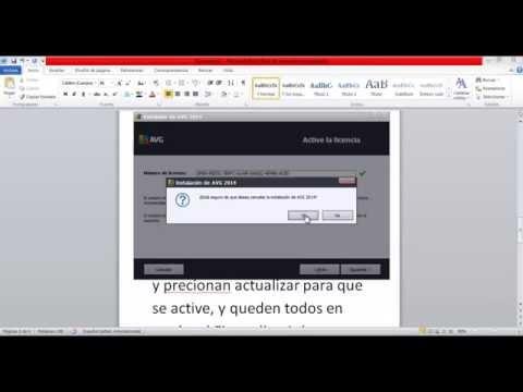 Como descargar e instalar AVG Internet Security 2014 gratis ( Licencia hasta 2018)