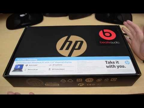 Unboxing HP Pavillion dm1 Notebook (2013)