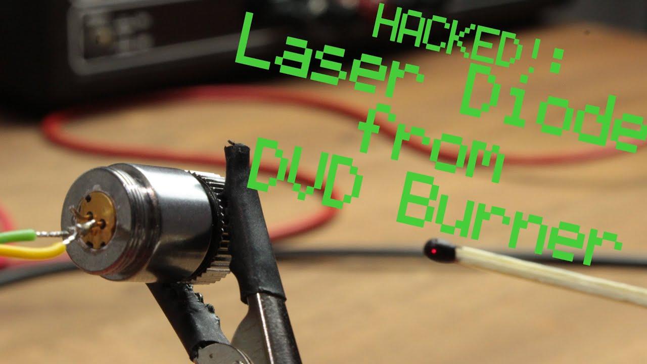 Как сделать из лазерного двд