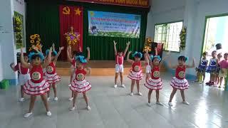 Hội thi Bé khỏe Bé ngoan: múa Búp bê bằng bông, con cào cào    Nhạc thiếu nhi, nhạc mẫu giáo hay