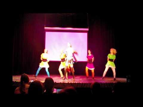 PostAnimatrix 2011 (Moscow) Nyanko + Nyo! - Po pi po Vegetable Juice dance (HD)