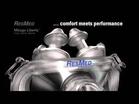 Introduction to the ResMed Mirage Liberty Full Face CPAP Mask