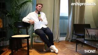 Archiproducts Milano 2018 | THONET - Sebastian Herkner presents Chair 118 the restyle of Chair 214