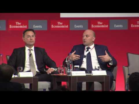 Kostas Andriosopoulos at The Economist 20th Greek Government Roundtable Discussion