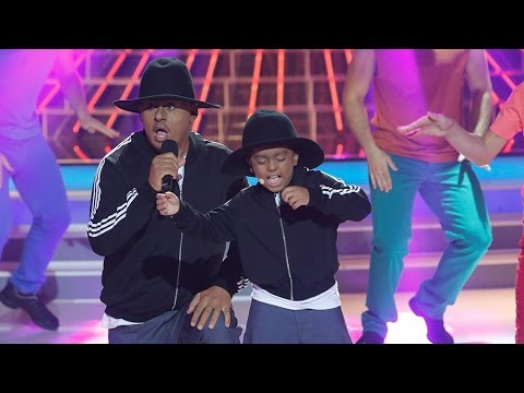 Miki Nadal y Fran imitan a Pharrell Williams en Tu cara me suena Mini