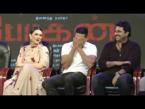 Prabhu Deva Speech at Bogan Movie Audio & Trailer Launch Event