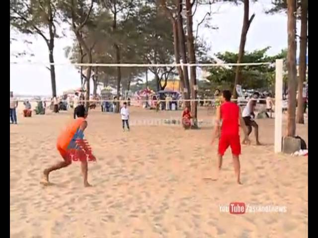 Beach Volley kerala team not get facilities for practise  : National Games