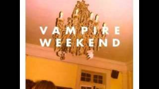Watch Vampire Weekend Walcott video