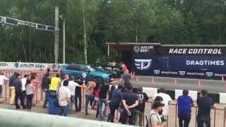BMW X5M F85 Evotech vs Chevrolet Corvette ZR1 - Unlim 500+ 30.31.05.2015