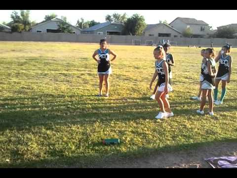 paradise education center football game- cheergame