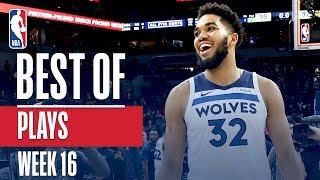 NBA's Best Plays   Week 16