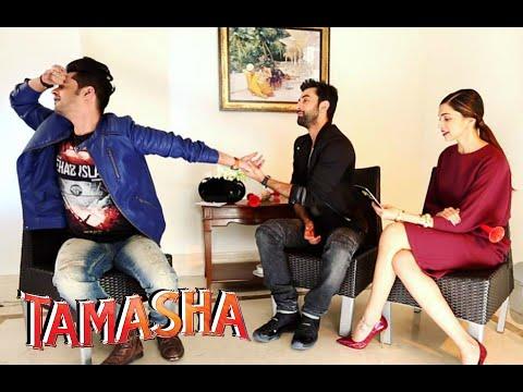 Deepika Padukone & Ranbir Kapoor in a FUN Conversation |  'DialogueBaazi' Game | Tamasha