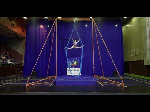 Natalia Dovgalyuk - Silk Amateurs A, Open European Championship of Aerial Acrobatics 2016