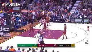 Marcus Smart gets ejected after scuffle with JR Smith