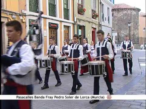 Pasacalles Banda Fray Pedro Soler de Lorca (Murcia).wmv