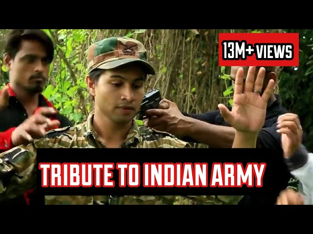 A TRIBUTE TO OUR INDIAN ARMY | IND-PAK BORDER | SHORT FILM | SHAIKH AHMED & TEAM thumbnail