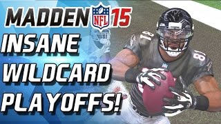OMG! CRAZIEST PLAYOFF GAME EVER! MADDEN IS TROLLING! THIRLLER! - Madden 15 Ultimate Team