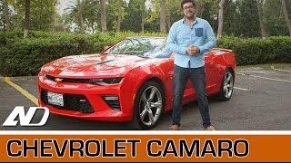 Chevrolet Camaro - Ni tan americano como aparenta