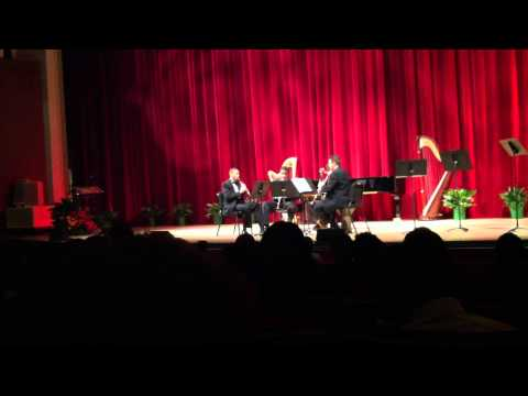 Astor Piazzolla: History of the Tango for Clarinet Quartet