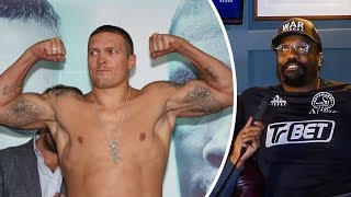 Dereck Chisora: USYK Should Stick to DANCING & JUGGLING! Not Heavyweight Boxing!