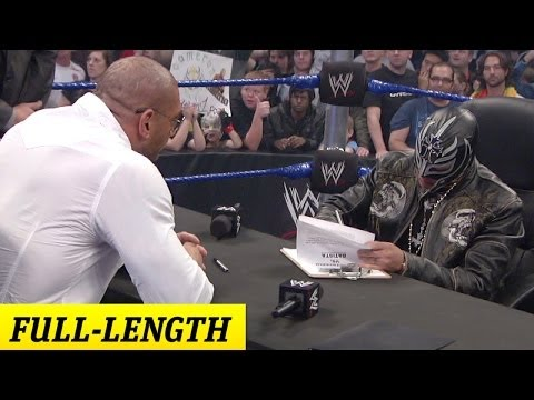 Rey Mysterio And Batista's Survivor Series 2009 Contract Signing video