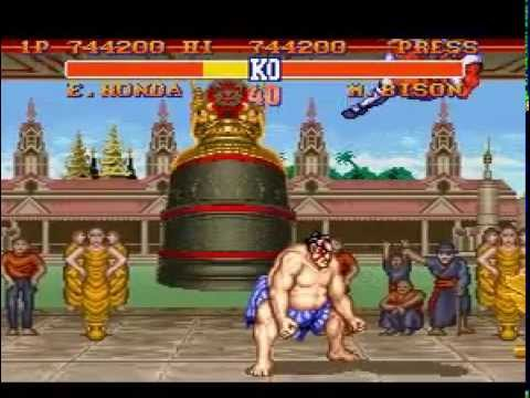 Street Fighter II - The World Warrior (SNES) - E.Honda (Hardest)
