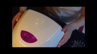 duo lite led and uv lamp review testing it out also testing the icon gel polish
