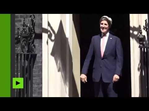 Quand la porte du 10, Downing Street en veut à John Kerry