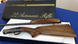 Browning .22 S/A Rifle