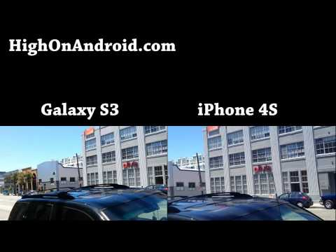 Galaxy S3 vs. iPhone 4S Camera Photo/Video Shootout!